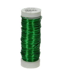 Efco Kupferdraht, grün-metallic,0,50 mm Ø, Rolle 25m