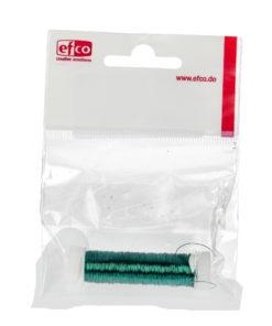 Kupferdraht grün-metallic, 0,18mm Ø