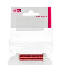 Kupferdraht rot-metallic, 0,50mm Ø, Rolle 25m