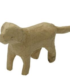 PappArt Hund zum Bemalen