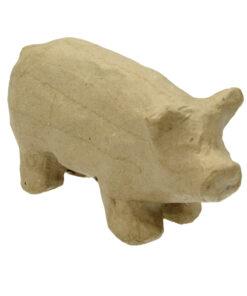 PappArt Schwein zum Bemalen