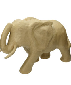 PappArt Elefant zum Bemalen