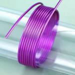 Aludraht, 2mm in violett