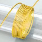 Aludraht, 2mm in gelb