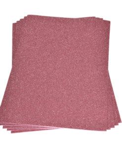 Efco Moosgummiplatte mit Glitter in rosé