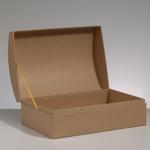 Efco Papp-Truhe, 28,5x20x12,5cm, zum Basteln