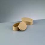 Efco ovale Papp-Schachtel, 13,5x8,4, zum Basteln