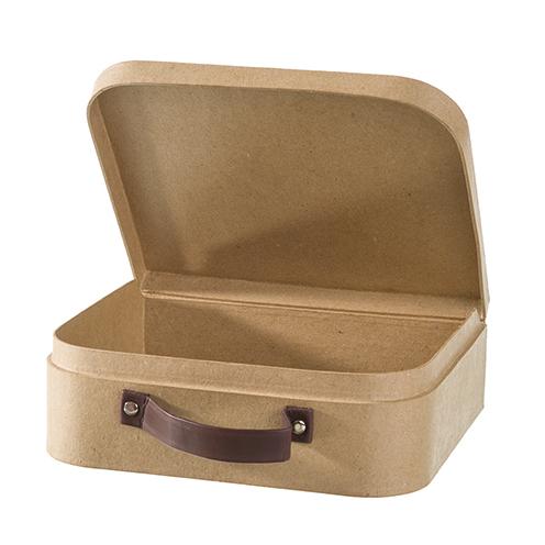 Rayher Pappmaché-Koffer, zum Basteln und Dekorieren