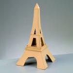 Pappmaché-Eiffelturm, zum Basteln