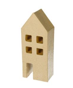 Efco Pappmaché-Haus, 8x20x5 cm