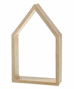 Efco Pappmaché-Rahmen Haus, zum Basteln und Dekorieren