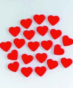 Efco Holzstreuer rote Herzen