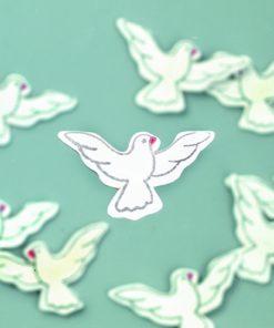 Efco Holzstreuer weiße Tauben