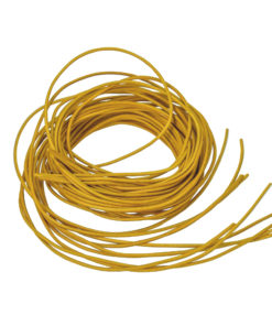 Ziegenlederband in gelb