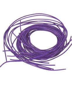 Ziegenlederband in lila