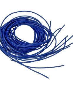 Ziegenlederband in blau