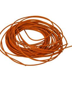 Ziegenlederband in orange