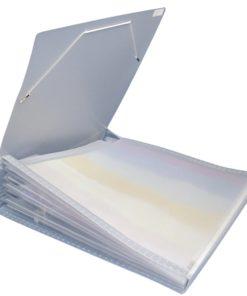 Fächertaschen für Scrapbookpapiere, 7 Fächer
