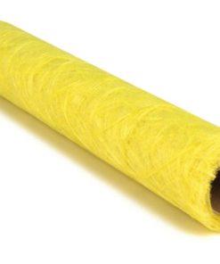 Faserseide in gelb
