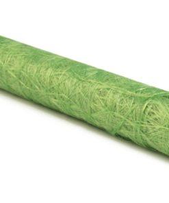 Faserseide in hellgrün