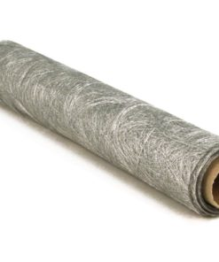 Faserseide in silber