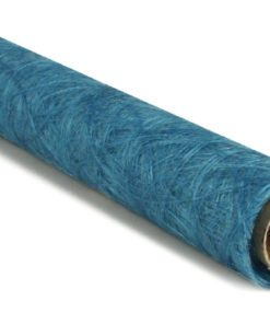 Faserseide in türkis