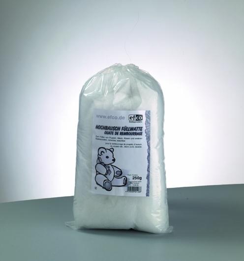 Füllwatte,hochbausch, 250g in weiß, zum Füllen