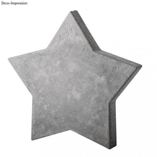 Stern aus Beton