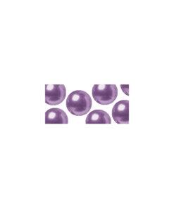 Glas-Halbperlen in violett