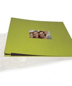 Goldbuch Scrapbooking Album, Apfelgrün
