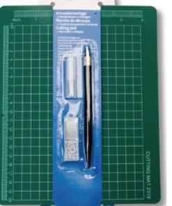 Heyda Schneideunterlage mit Bastelmesser, Cutter