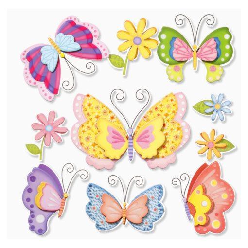3D Sticker Schmetterlinge XXL