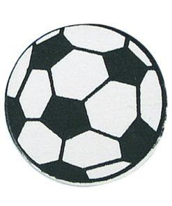 Holzdeko Fußball zum Kleben