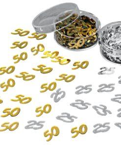 Pailletten 50 in gold