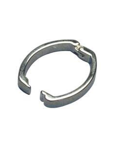 Rayher Kettenverschluss Clip, platin, 25x20mm