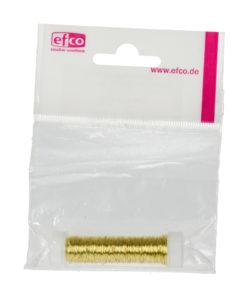 Kupferdraht, messing-gold, 0,18mm Ø,
