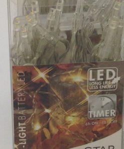 10-er Lichterkette LED für innen