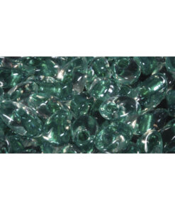 Magatama Perlen Frost, smaragd, zur Schmuckgestaltung