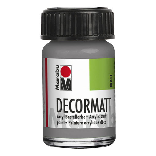 Marabu Decormatt 15 ml hellgrau