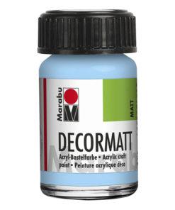 Marabu Decormatt 15 ml zartblau