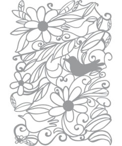 Marabu Art Stencil Schablone Blooming Garden, A4