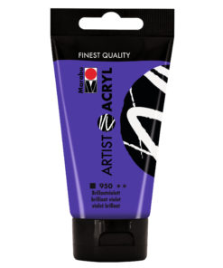 marabu artist acryl brillantviolett 75ml
