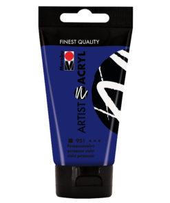 marabu artist acryl permanentviolett 75ml