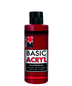 Marabu Basic Acryl 009 Orientrot