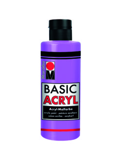 acrylfarbe basic acryl pink