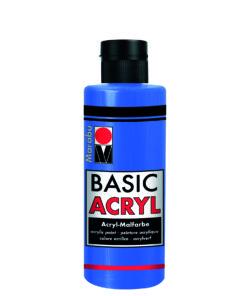 acrylfarbe basic acryl mittelblau