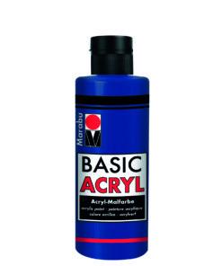 acrylfarbe basic acryl dunkelblau