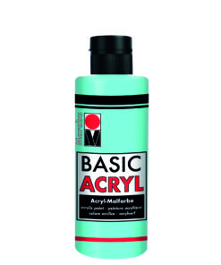 acrylfarbe basic acryl hellblau
