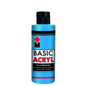 acrylfarbe basic acryl azurblau