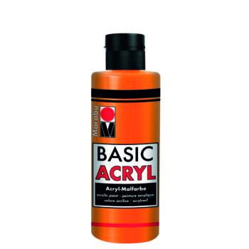 acrylfarbe basic acryl mandarine
